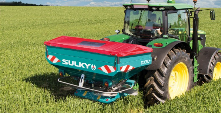 New Sulky range of fertiliser spreaders