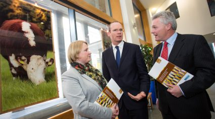 Minister Coveney says farmers can't be working for banks