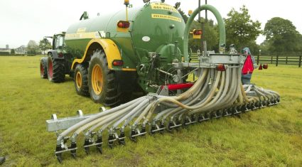 Maximise slurry application in spring