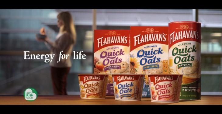 New TV campaign for Flahavan's oats