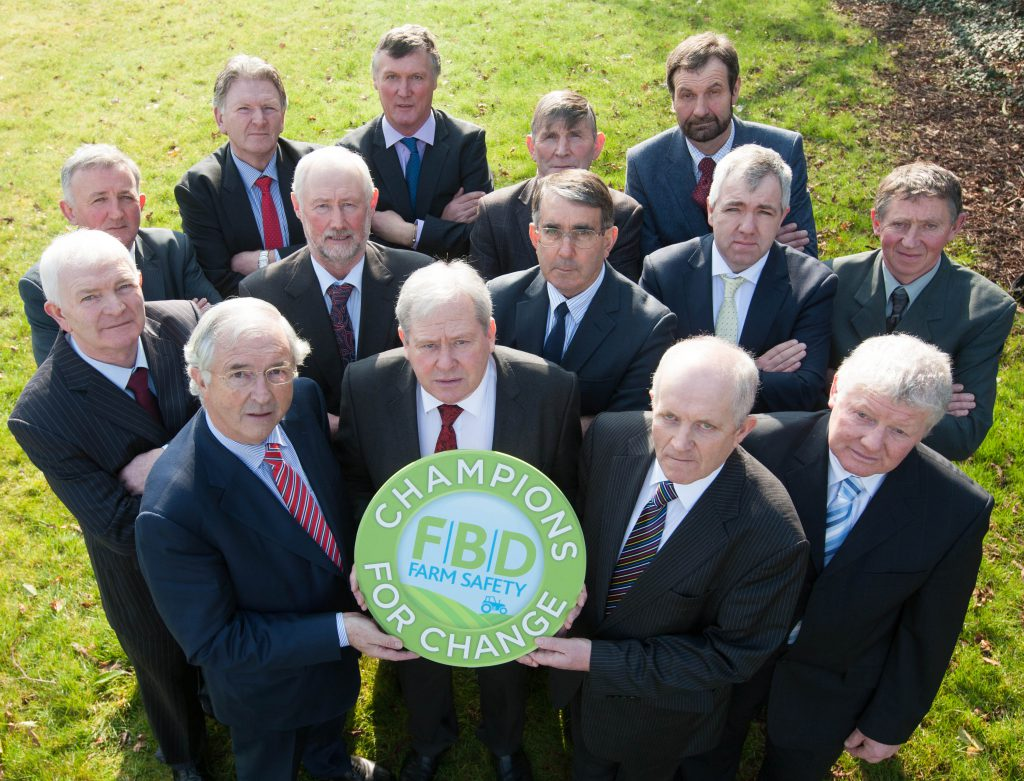 .  Chairmen and Board members of ICOS member dairy co-operatives (the Irish Co-operative Organisation Society) pictured with FBD Chairman Michael Berkery