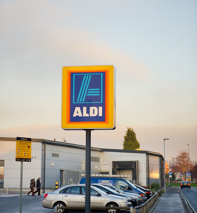 Aldi and Lidl hold greater market share in Ireland compared to UK