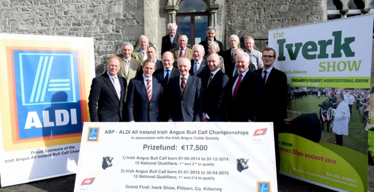 €17,500 prize fund for All-Ireland Angus Bull Calf Championship