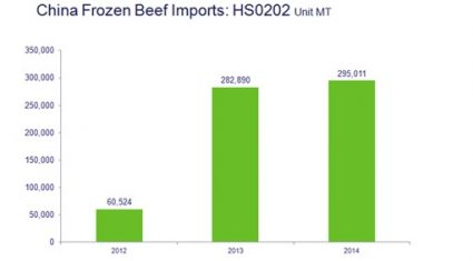 China's beef imports to increase in 2015 – Bord Bia