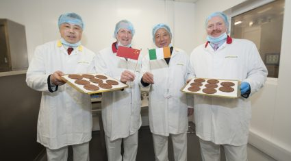Chinese delegation visit Dawn Meats plant as part of Marketplace 2015