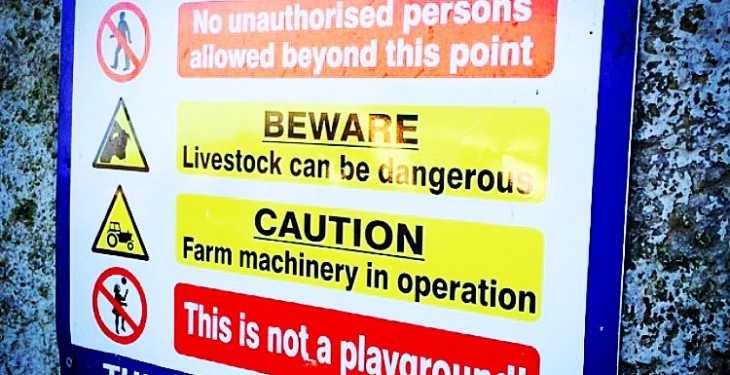 Farmers are spending double the minimum on Farm Safety Scheme
