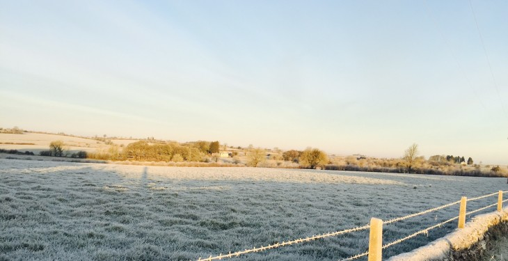 Sharp or severe frost – and some snow – expected this week