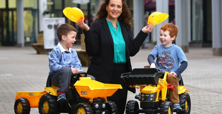 50 ride-on JCB vehicles for kids and a 6,000sq ft track to open