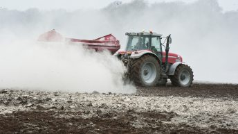 'Don't miss an opportunity to spread lime on your land'