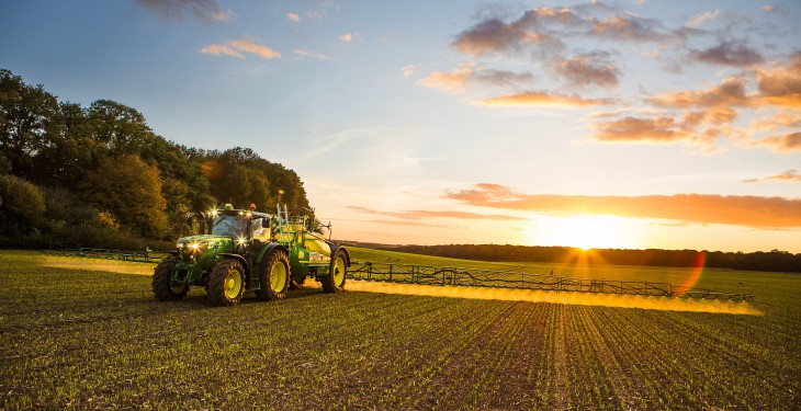 Boom sprayer courses varying by as much as €200