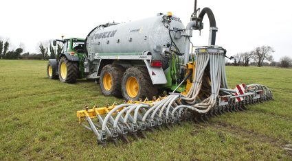 Slurry spreading deadline from October 15