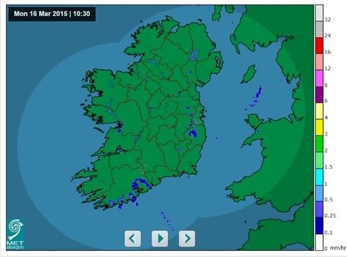 Mostly dry this week, but frosty at night – Met Eireann