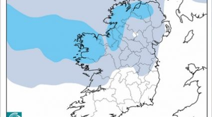 Unsettled weather with outbreaks of rain – Met Eireann