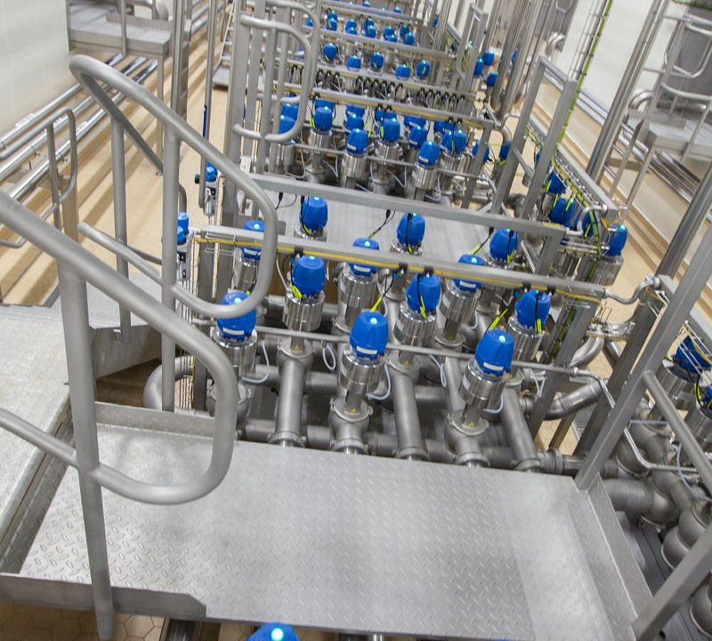 Glanbia plant is home to 36km of pipes and can process 2.5m litres a day