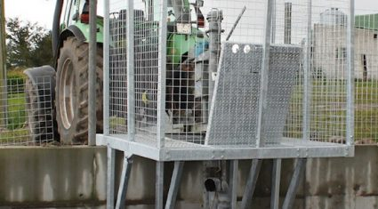 Slurry cages to be allowed under new Farm Safety Scheme