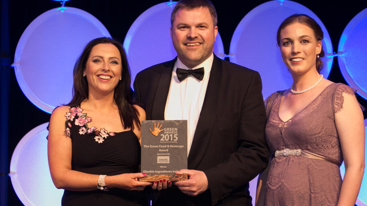 Glanbia Ingredients wins environmental award