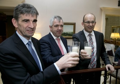 Michael Harte, Chief Financial Officer, James Lynch, Chairman and Jim Woulfe, CEO.