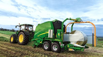 New variable chamber wrapping baler from John Deere