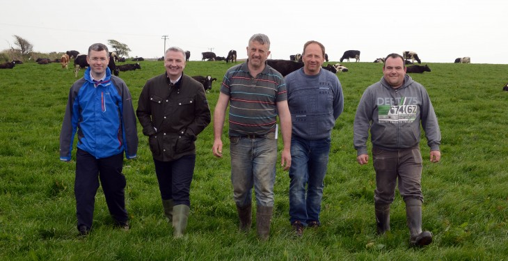 Grassland farm walk – the future dairy farm