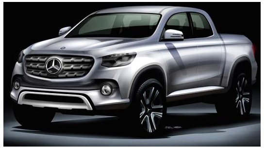 Mercedes set to enter the pickup market