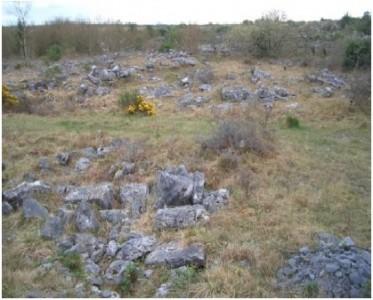 outcropping rock