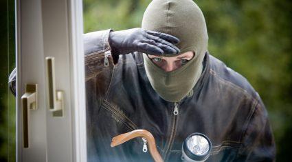 'Burglar had my arm held and I was afraid for my life'