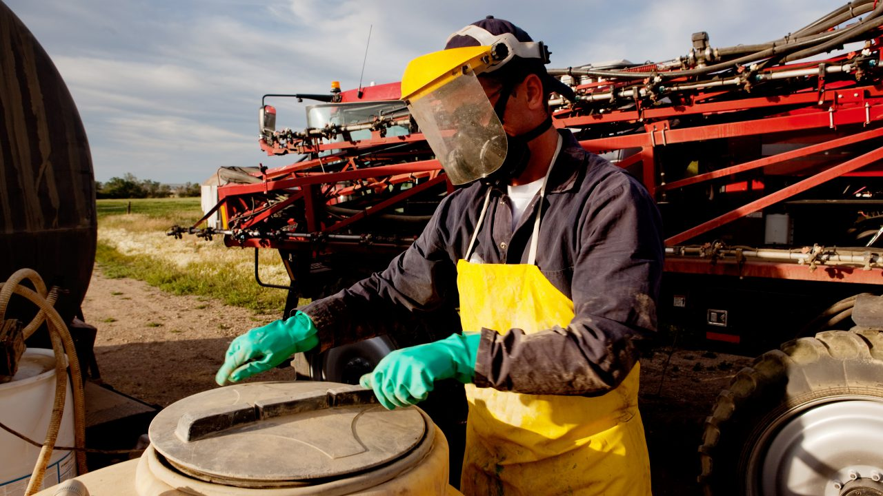 Spraying licence – what you need to know