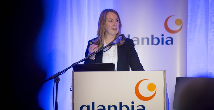 Whey-based nutrition drives positive Glanbia results