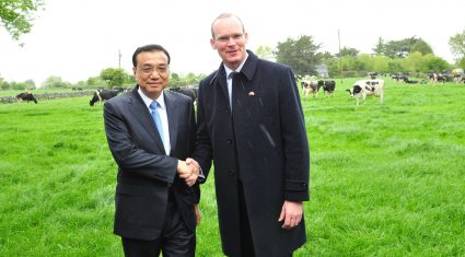 See pictures of Chinese Premiers visit to 270 acre farm