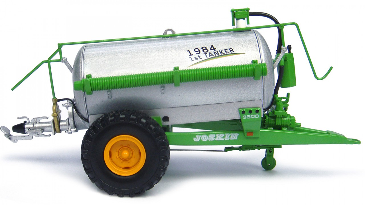 Joskin launches limited edition miniature tanker