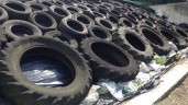 Tyre recycling subsidy secured for farmers