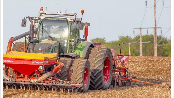 The current spell of great weather isn't good news for cereal growers
