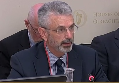 General Secretary of the Department of Agriculture Aidan O'Driscoll
