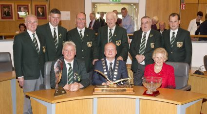 World Ploughing Champion honoured at home in Carlow