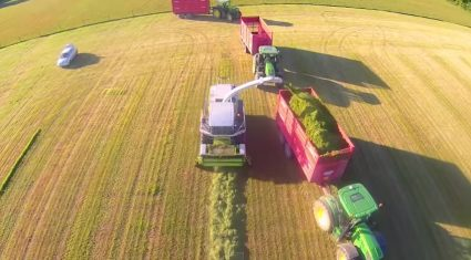 Video: Amazing drone footage of silage 2015