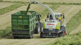 Difficult conditions affect grass growth and silage making