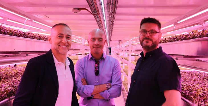 London's first underground farm unveiled