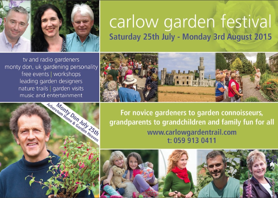 Monty Don set to be the highlight of Carlow Garden Festival