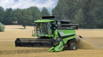 Deutz-Fahr unveils C6000 series combine