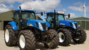 Eight-year-old tractor for sale with 20% tread left in original Michelin tyres