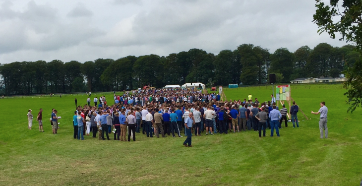 Farmers warned at Moorepark open day of 2015 milk price