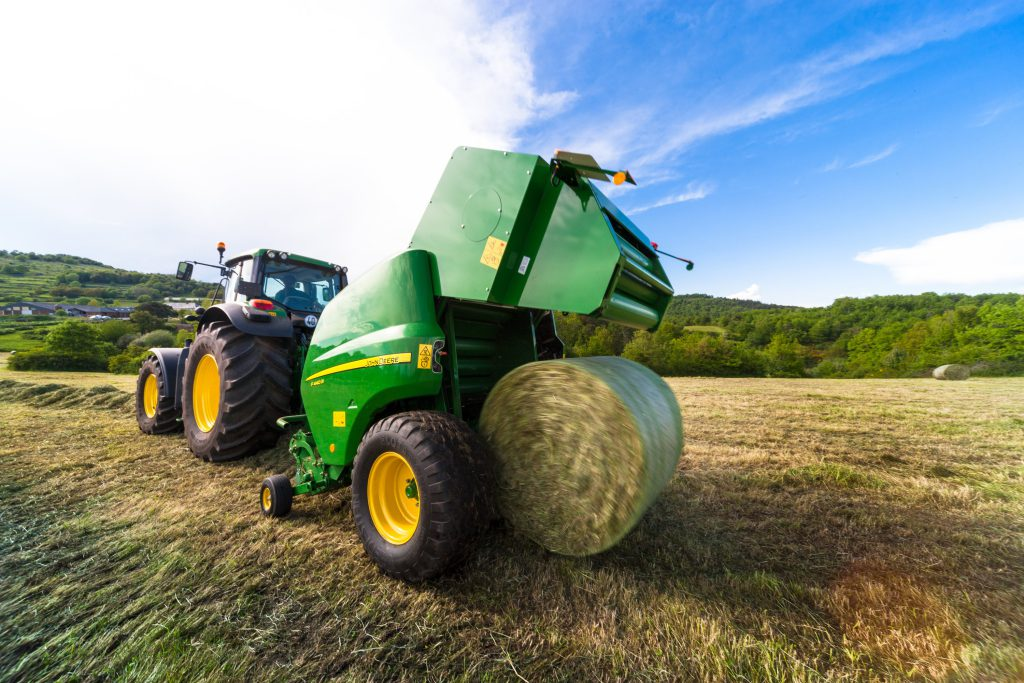 John Deere has launched its first ever printed parts