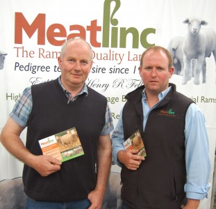 Meatlinc's Francis Connon and George Fell