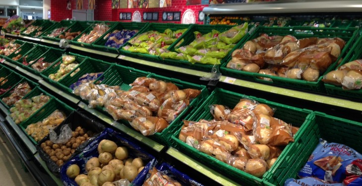 Extra €90 million spent on groceries during the festive period