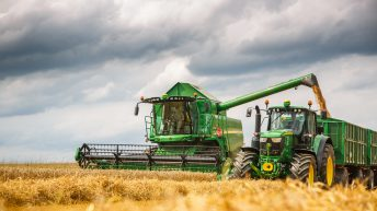 Before you put the combine or baler back in the shed, here's how you should store it