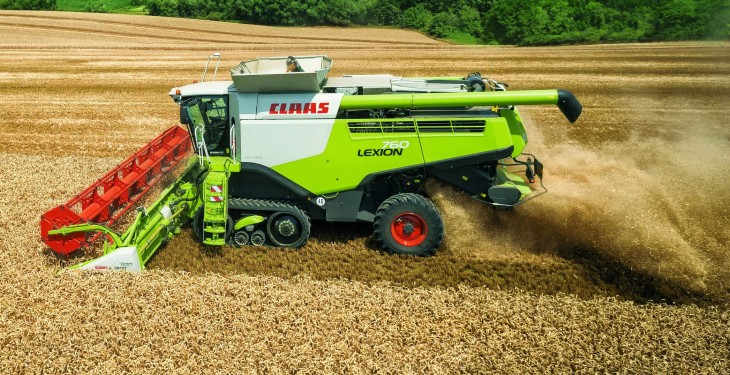 New Lexion 700 combine range designed to achieve greater throughputs