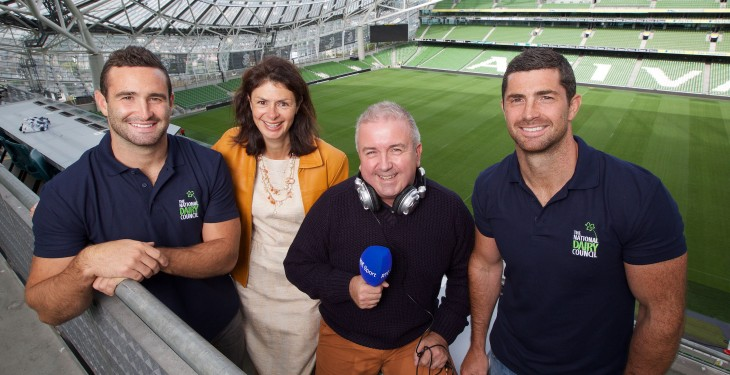 Rob and Dave Kearney launch 'Win With Dairy' campaign