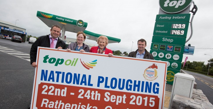 Top Oil to fuel the Ploughing Championships