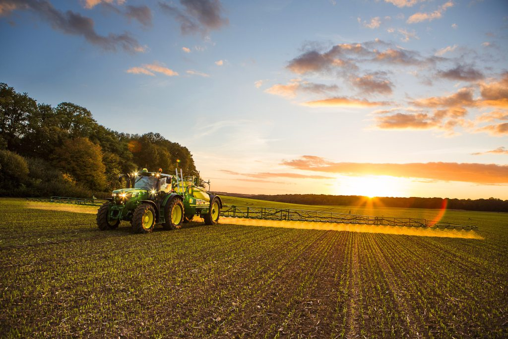 spraying farmers