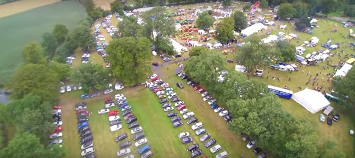 Video: See the Tullow Show from a height with amazing drone footage